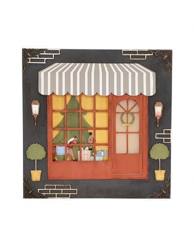 DIY Kit 024 Christmas Store Window