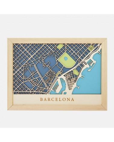 Kit Mapa DIY 001 Barcelona Puerto
