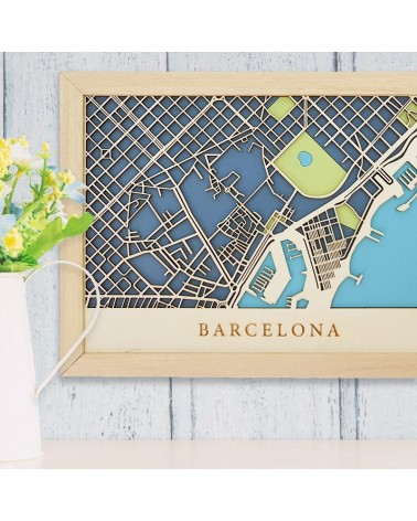 DIY Map Kit 001 Barcelona Port