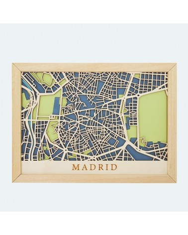 Kit Mapa DIY 002 Madrid Centro