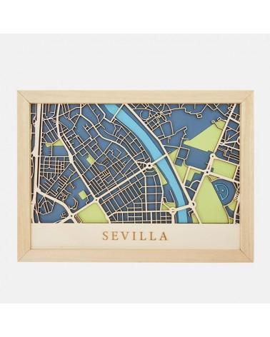 Kit Mapa DIY 003 Sevilla Centro