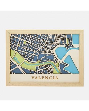 Kit Mapa DIY 004 Valencia Puerto