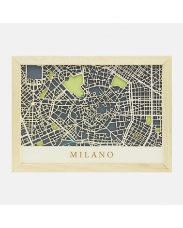 DIY Map Kit 006 Milano