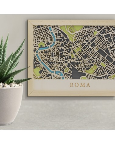 Kit Mapa DIY 008 Roma