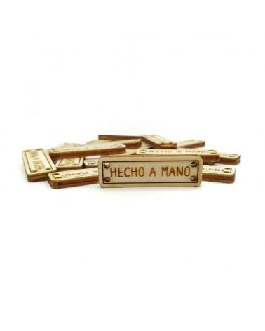 Set of Wood 028 Hecho a Mano 10 pcs
