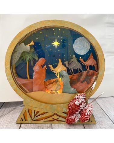 DIY Kit 026 Lamp Nativity Scene