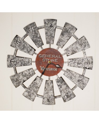 Wooden Plate 102 Country Style Clock