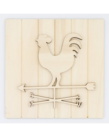 DIY Kit 031 Farmhouse Weather Vane Sign