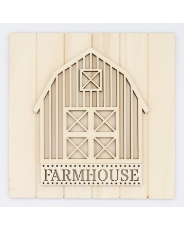 DIY Kit 030 Farmhouse Barn Sign