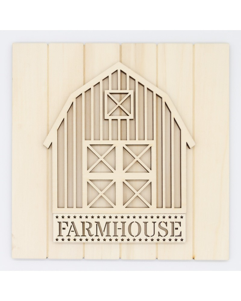 Kit DIY 030 Cartel Granero Farmhouse