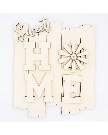 DIY Kit 028 Sweet Home Country Sign