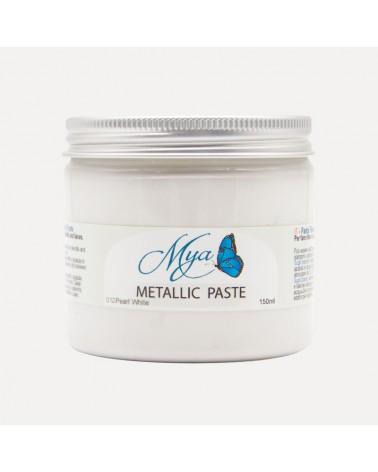 Metallic Paste MYA 012 Blanco