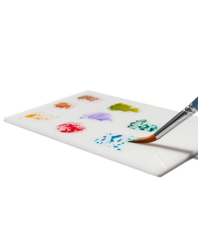 Paleta Metacrilato Blanco 12x18cm