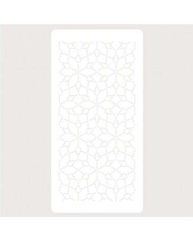 Stencil Deco Scrapbooking 124