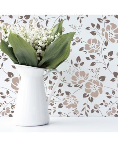 Stencil Home Decor Floral 009