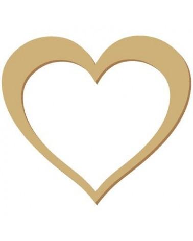Silueta Figura 046 Corazón