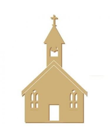 Silueta Fiesta 020 Iglesia