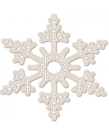 Silueta Fiesta 029 Copo de Nieve