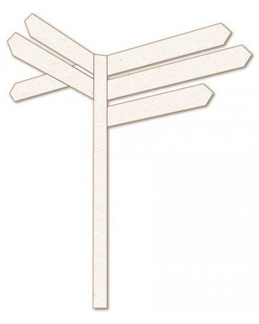 Silueta Figura 150 Señal Crossroad
