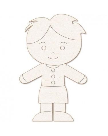 Silueta Figura 166 Nene