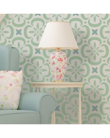 Stencil Home Decor Geometrico 025 Floral