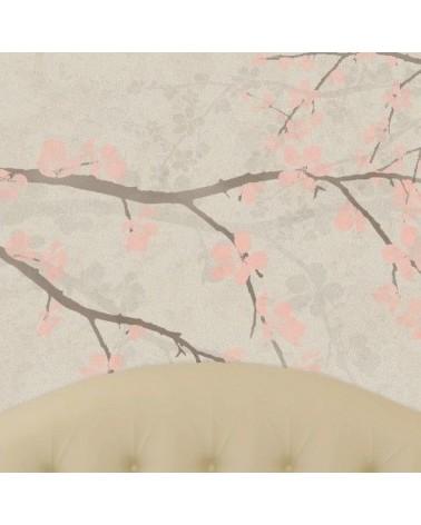 Wall Stencil Tree 002 Rama Almendro