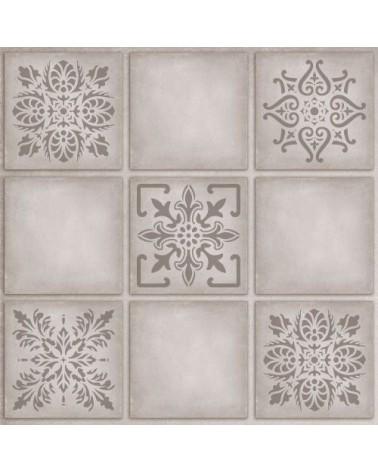 Wall Stencil Tile 003