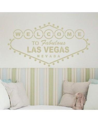Wall Stencil Poster 004 Las Vegas