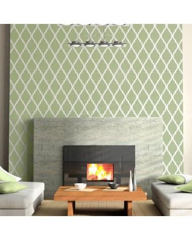 Wall Stencil Geometric 001 Tetuan