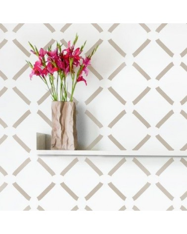 Wall Stencil Geometric 011 Chevron 1