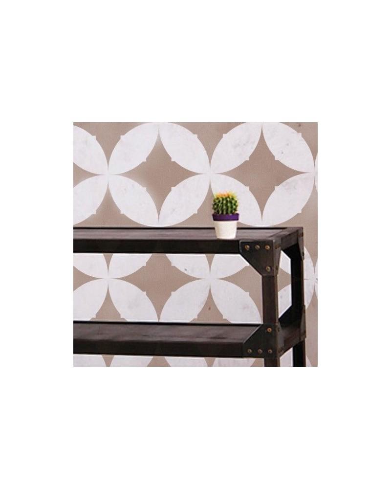 Wall Stencil Geometric 011 Chevron 1
