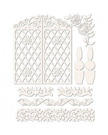 Set Siluetas Cartón 008 Puerta