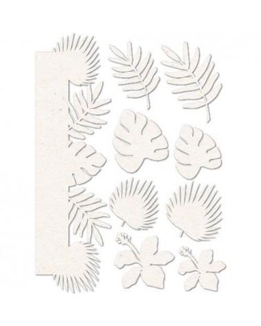 Set Siluetas Cartón 012 Hojas
