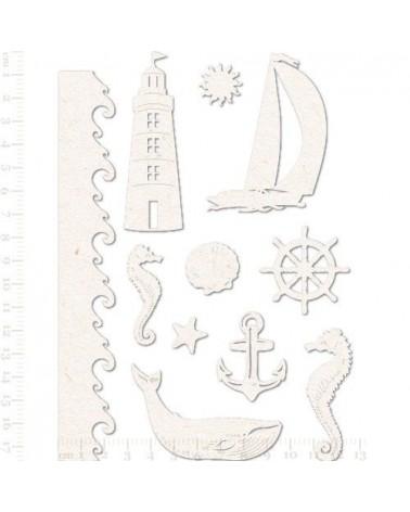 Set Siluetas Cartón 015 Mar