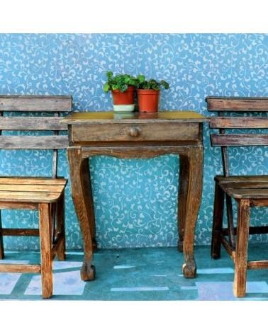 Stencil Home Decor Baldosa 006