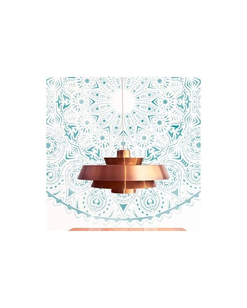 Stencil Home Decor Roseton 014 Mandala