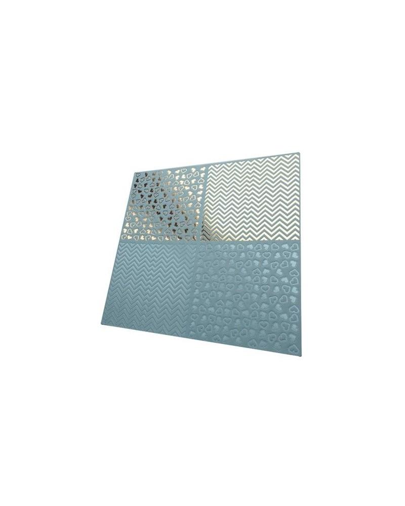 Papel Scrapbooking Relieve PSS020 - 1