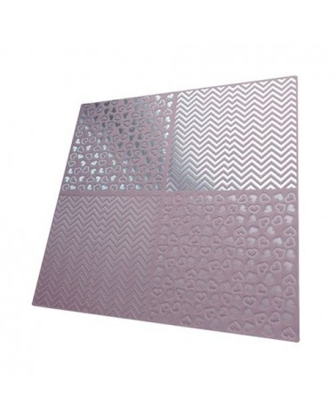 Papel Scrapbooking Relieve PSS021 315x325mm