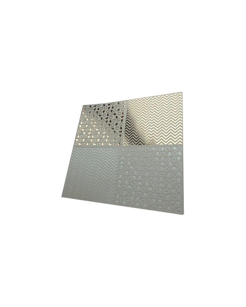 Papel Scrapbooking Relieve PSS022 - 1