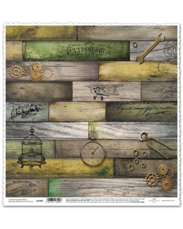 Papel Scrapbooking SCL601 - Front