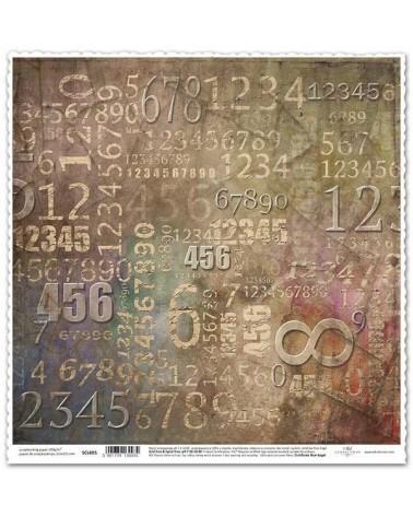 Papel Scrapbooking SCL605 - Front