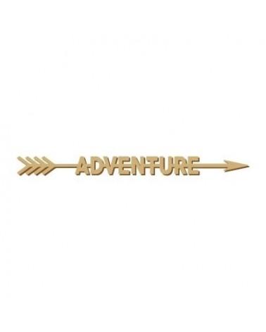Soporte Cartel Madera 001-45 Adventure