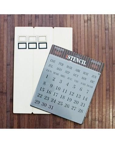 Kit DIY 001 Calendario Perpetuo 1