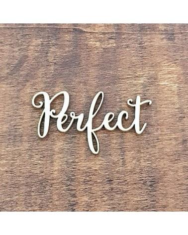 Silueta Texto 010 Perfect - Madera