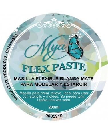 Masilla de Relieve Flex Paste MYA Blanca Mix Media