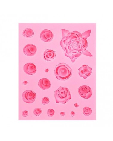 Silicone Mold 015 Roses