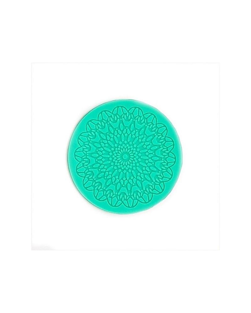 Molde de Silicona 017 Rosetón