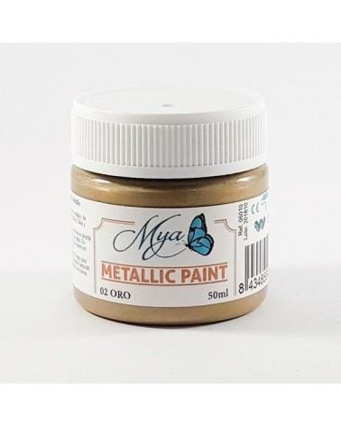Metallic Paint MYA 01 Plata