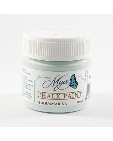 Pintura Chalk Paint MYA 34 Aguamarina 50ml