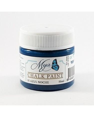 Pintura Chalk Paint MYA 35 Azul Noche 50ml